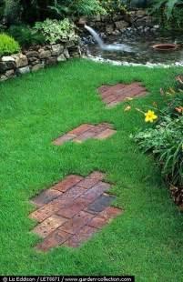 Cool Garden Ideas Diy Ideas For Creating Cool Garden Or Yard Brick Projects Amazing Diy Interior Home Design