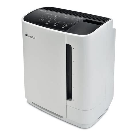 brondell o2 revive truehepa air purifier humidifier in white pr50 w the home depot