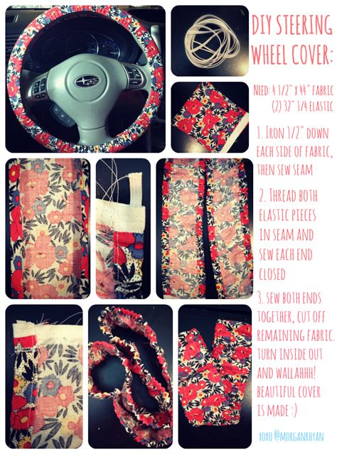 pattern wheel sewing steering wheel cover tutorial shop cardecor com for girly