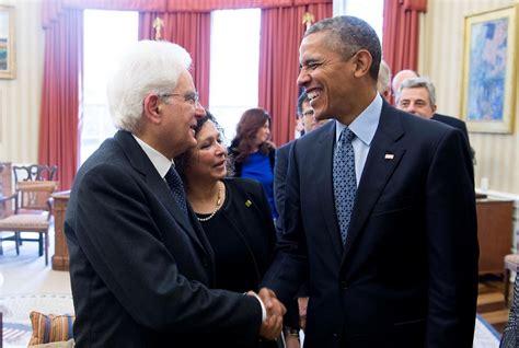 ufficio presidente della repubblica mattarella obama incontro alla casa