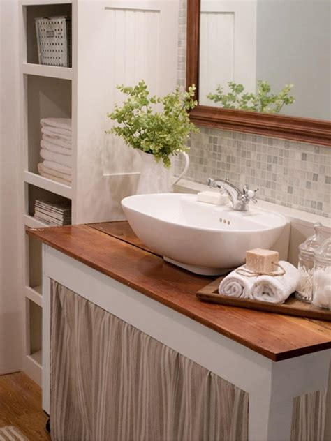 bathroom sink decorating ideas 20 small bathroom design ideas hgtv