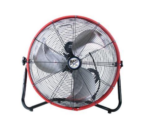 20 inch floor fan maxxair hvff 20s redups shroud floor fan 20 inch red