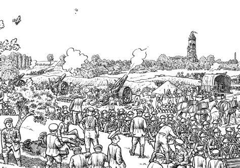 1 Drawing A Day by Une Bd De 7 M 232 Tres De Sur La Bataille De La Somme