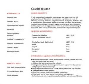 Cashier Job Description Resume Sample cashier resume 9 free samples examples format