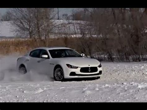 maserati snow 2014 maserati ghibli s q4 snow driving morrie s luxury