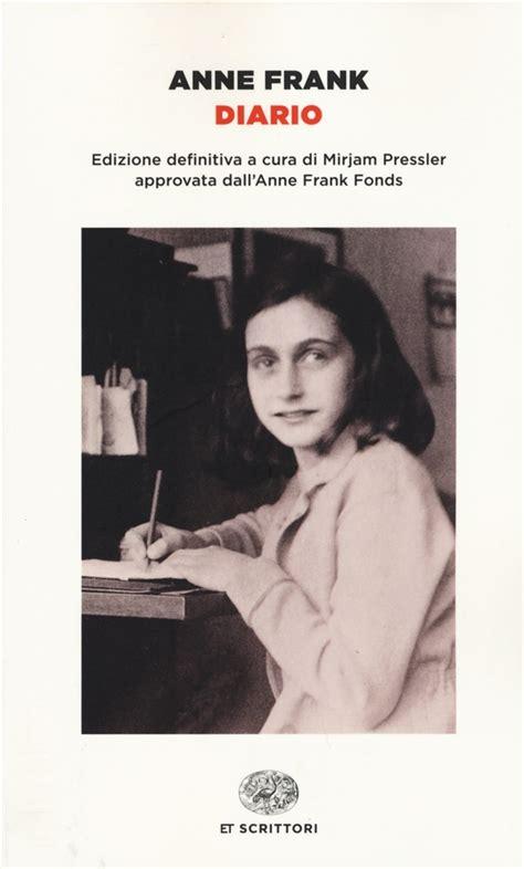 ana frank diario anne frank 0606301305 libro diario di a frank lafeltrinelli