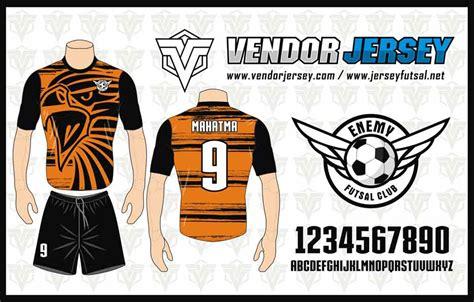 jersey futsal desain depan belakang kerah bikin baju futsal depan belakang vendor jersey futsal