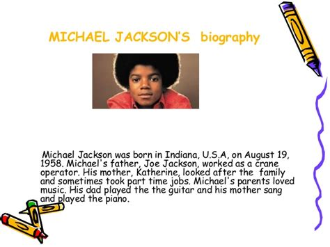 michael jackson biography for esl students ict applied linguistics to english mj