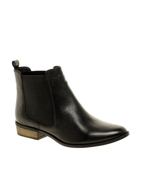 asos chelsea boots asos asos adelaide leather chelsea ankle boots with