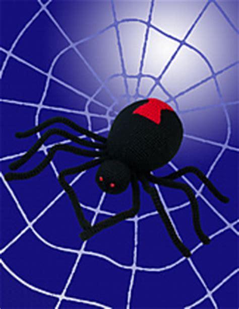 web like pattern ravelry black widow spider pattern by deja jetmir