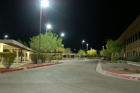 power and light parking parking lots led light power