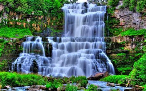 wallpaper bergerak pemandangan air terjun kumpulan gambar air terjun tercantik di dunia wallpaper