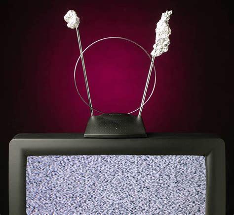 remember  people put foil   tv antenna