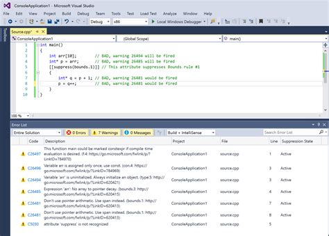 Studio C Background Check C Check Code Analysis Is Included With Vs 2017 Visual C Team