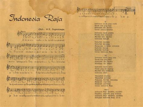 indonesia nationalanthems info