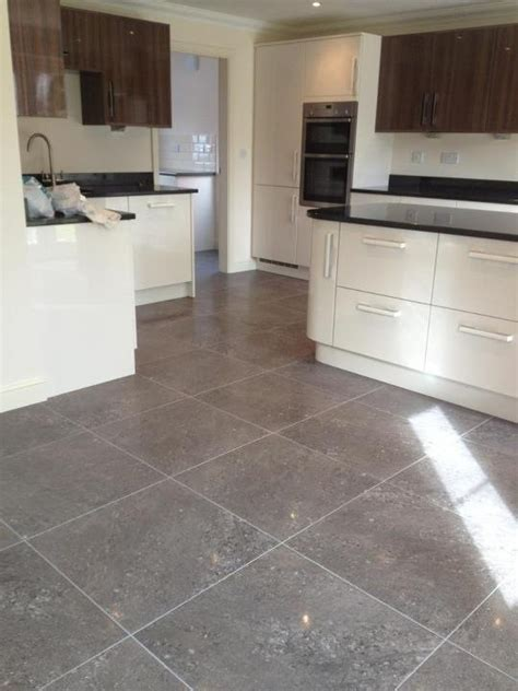 Semi polished porcelain floor tiles   Kitchen ideas