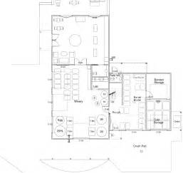 winery floor plans construction stinson vineyards the blog