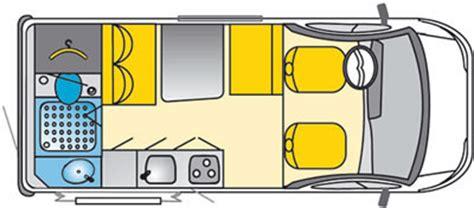 conversion van floor plans southdowns new motorhomes concorde compact specification