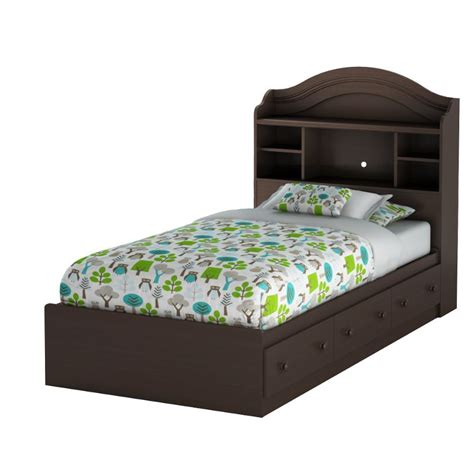 mates bed summer breeze chocolate twin mates bed