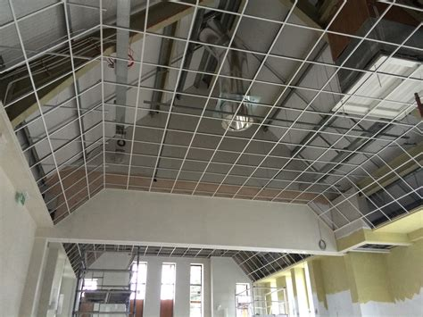 How To Build A Suspended Ceiling by Suspended Dropped Ceiling Kabodinspirat Ltd Building