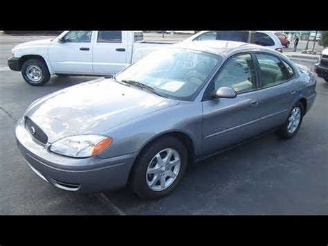 2006 ford taurus sel review 2006 ford taurus sel review engine start up