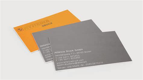 Visitenkarten Innsbruck by Visitenkarten Athesia Druck Gmbh Druckerei Athesia