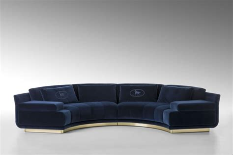 fendi sofas for sale fendi casa s eye catching collection at maison objet
