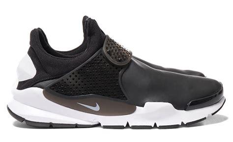 Nike Sock Dart Black White nike sock dart se waterproof black white sneaker bar detroit