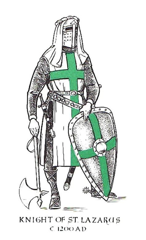 the knights of the order of saint john their london knight of the order of st lazarus st lazarus pinterest