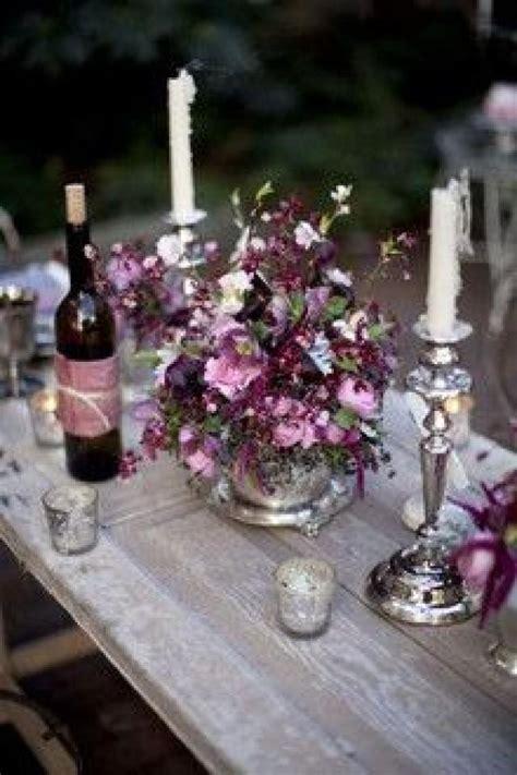 Purple Wedding   Plum Colored Reception Decor #2066062