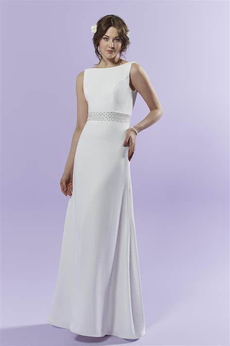 crepe wedding dresses bridal gowns page  hitchedcouk