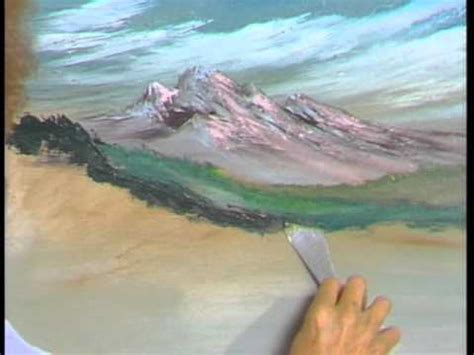 bob ross entire painting with knife bob ross mountain challenge season 4 episode 13