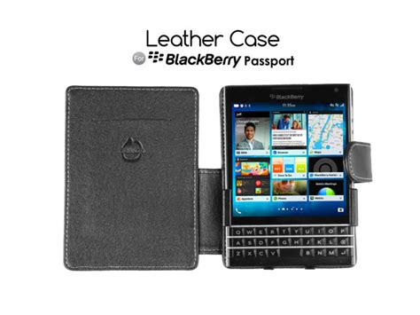 brando workshop leather for blackberry passport side