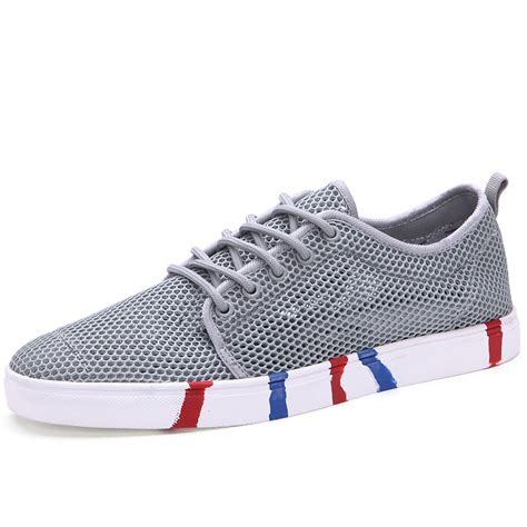 casual shoes cheap platform breathable air mesh