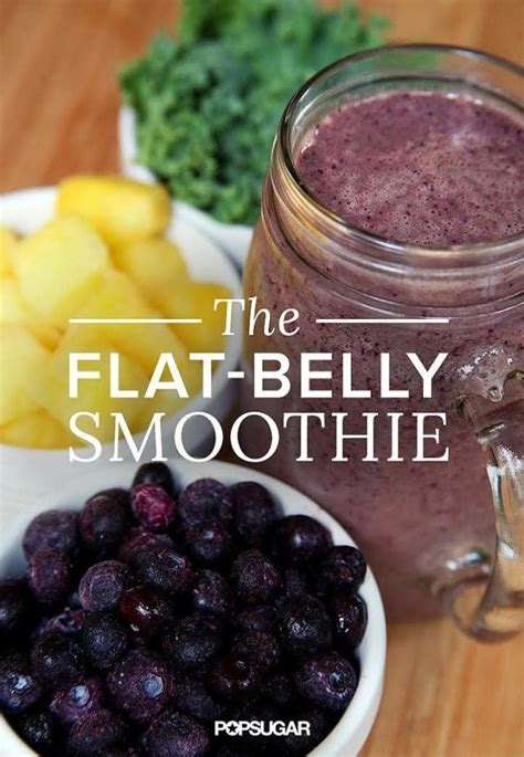 Flat Tummy Detox Smoothie by Flat Belly Smoothie Recipe Achieve Your Goals