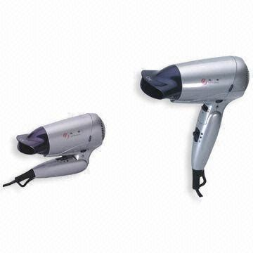 Hair Dryer Low Voltage travel hair dryer with dual voltage foldable handle and storage hanging ring of giftforall