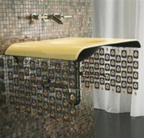 bathroom sink curtain beaded curtains on a bathroom sink 187 curbly diy