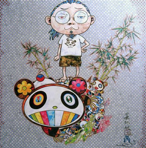 Dangun 1 7 Teshirogi Takashi 1 i met a panda family original by takashi murakami picassomio