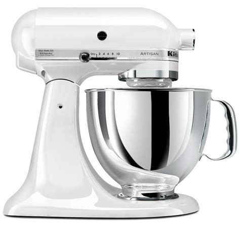 220 Volt KitchenAid Artisan Stand Mixer   White
