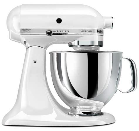 220 Volt KitchenAid Artisan Stand Mixer   White