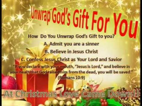 quot the greatest gift a love story quot unwrap god s gift for