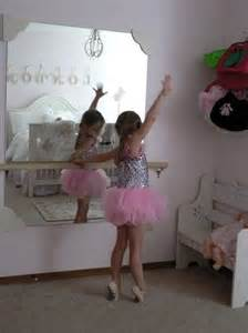 dance themed bedroom diy ballet mirror for a little girls bedroom kids rooms