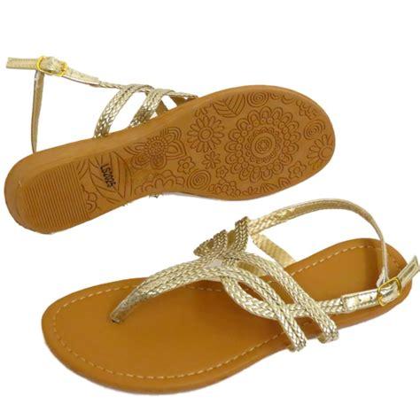 gold flat shoes uk gold toe post flat sandals flip flop shoes