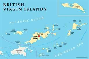 sailing in the bvi islands map