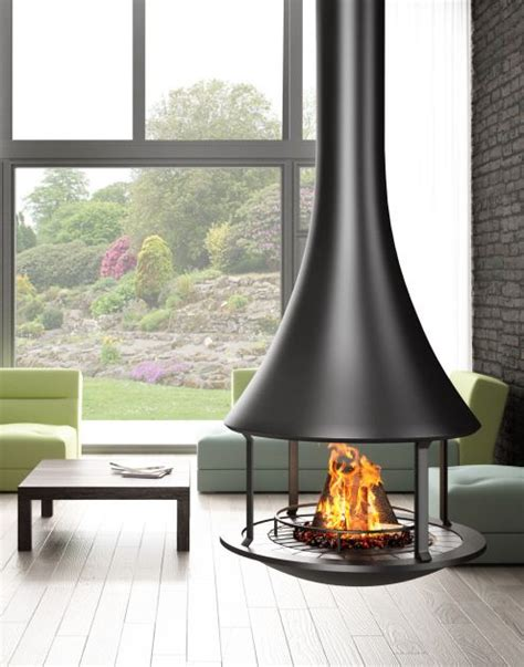 focal point homes scrolling website blaz design suspended fireplace to create focal point in home interior