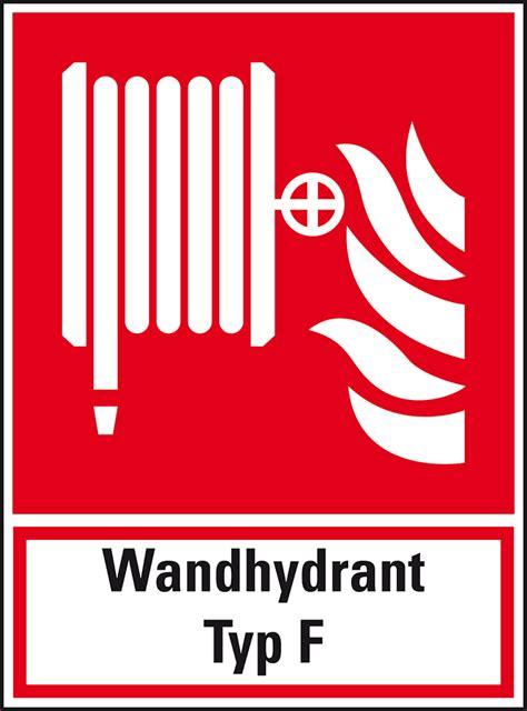 Aufkleber Wandhydrant by Brandschutz Kombischild Folie Selbstklebend 200x270mm