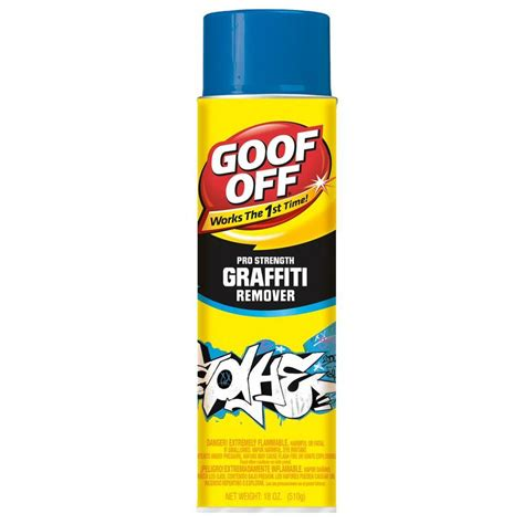 backyard off shop goof off 18 oz indoor outdoor paint preparation cleaner at lowes com