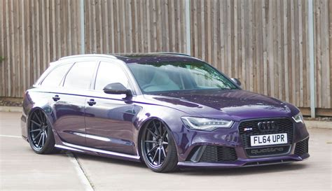 porsche purple audi gallery bagged audi rs6 on adv1 wheels