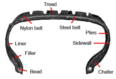 tire section file bridgestone tire cross section png wikimedia commons