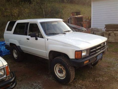 1986 Toyota 4runner Parts Find 1986 Toyota 4runner Motorcycle In Sonora California